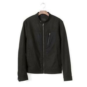 Banana Republic Jackets & Coats - Banana Republic mens black rain jacket size S